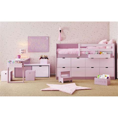 lit enfants juniors avec 8 tiroirs de rangement bahia