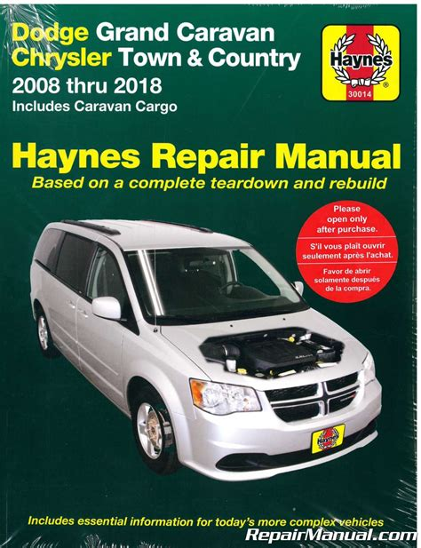 automotive service manuals 2008 dodge grand caravan free book repair manuals dodge grand caravan chrysler town country van 2008 2018 haynes car repair manual