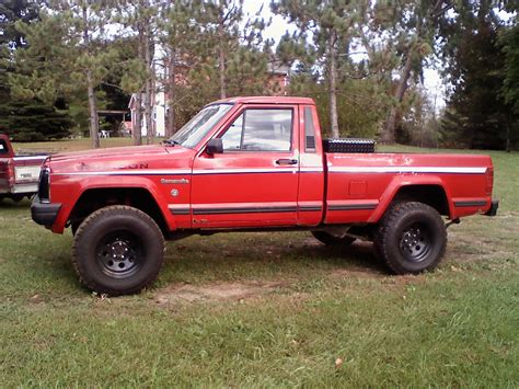 1988 lifted jeep comanche bigblack360 1988 jeep comanche regular cab specs photos