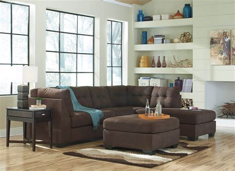 maier chocolate sectional sectional sofa sets