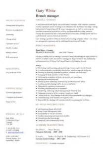 managing director cv resume management cv template managers director project management cv exle