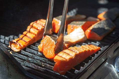 how to grill salmon on a gas grill easy grilled salmon recipe simplyrecipes com