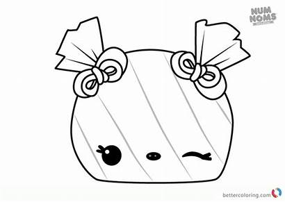 Num Noms Coloring Pages Peppermint Peyton Printable