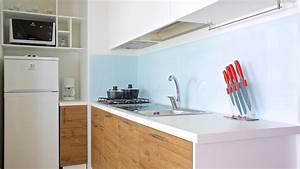 Küche Mit Kühlschrank : mobilheime zum mieten f r campingurlaub auf lo inj camping ikat ~ Markanthonyermac.com Haus und Dekorationen