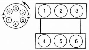 Firing Order Diagram 3 Liter Questions  U0026 Answers  With Pictures