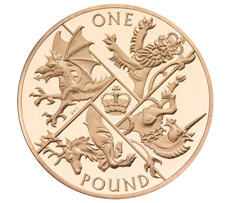 Behind The Design The Last 'round Pound'  The Royal Mint Blog