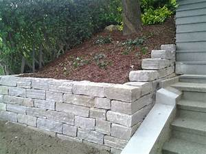 Steinmauer Im Garten : steinmauern ~ Lizthompson.info Haus und Dekorationen