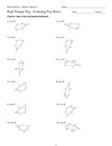 Trigonometry Review Worksheet Solving Right Triangles Worksheet Answers Abitlikethis
