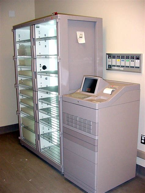 automated dispensing cabinets pyxis atm machine for dispensing rx meds student doctor network