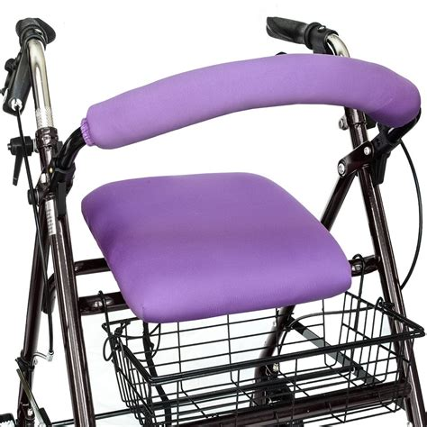 walker seat rollator covers rated roller bar amazon pimped universal glides