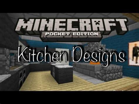 Minecraft Kitchen Ideas Pe by Minecraft Pe Kitchen Designs