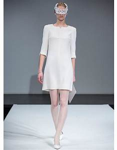 robe blanche courreges robes de mariee on pioche dans With courrege robe