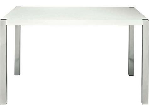 table cuisine conforama blanc table rectangulaire coloris blanc chez conforama