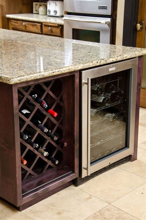 built in wine cabinet 25 modern ideas for wine storage in your kitchen and
