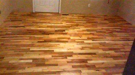 how to make a wood floor diy pallet wood flooring 99 pallets