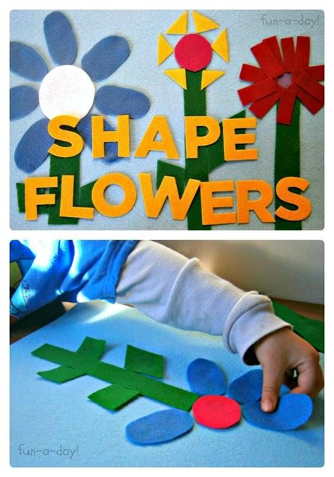 felt shape flowers activity felting activities and 777 | 39b5760c6bb294ae442305e2e799efa8 flower activities for kids preschool flower theme