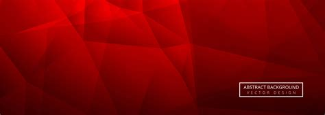 abstract red shiny polygon banner template background   vectors clipart graphics vector art