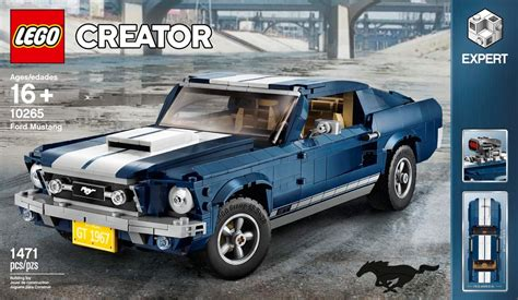 lego ford mustang just revealed lego creator ford mustang set 10265