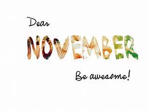 Hello November ! | Boho Chic Meets Organic's