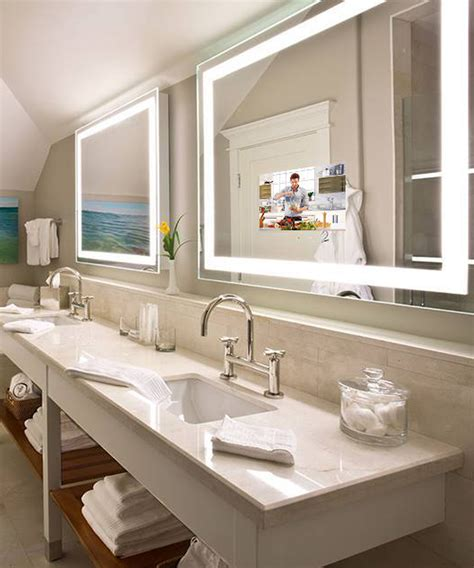 Electric Mirror Bathroom by Integrity Lighted Mirror Tv Electric Mirror