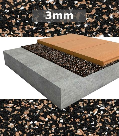 Floating Floor Underlayment Thickness by Regupol Acoustic Underlay 4515 S 3mm For Timber Tongue