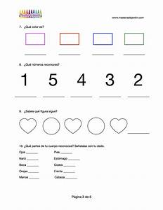 examen de pre escolar examen de diagnostico inicial para preescolar 3 maestra