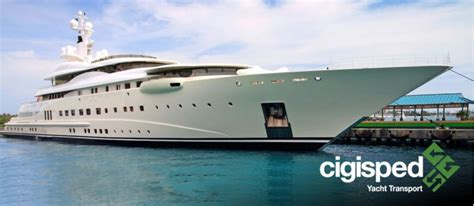 Shipping A Boat Cost by News Cigisped Yacht Transport Integrated Logistics Boat