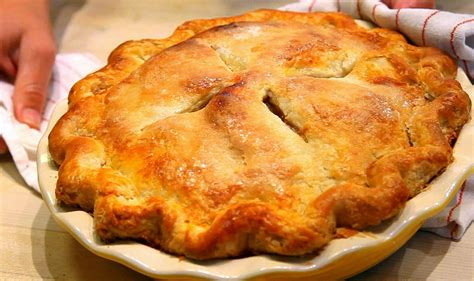 Making your pie crust from scratch is a lot easier than you might think. How to make pie crust video: simple flaky apple pie recipe