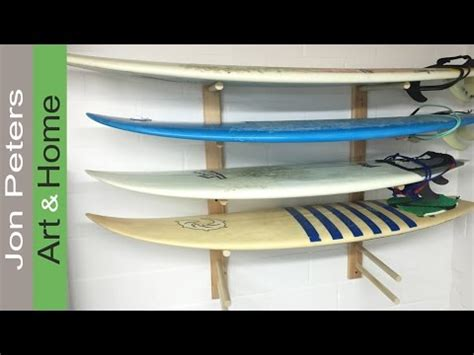 how to make a surfboard rack for your how to build a surfboard rack install on a cinder block