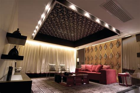 background wall mirror wall tiles contemporary living