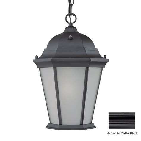 shop acclaim lighting richmond 14 in h black solar outdoor