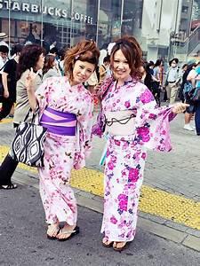 Kimono, Girls, Shibuya