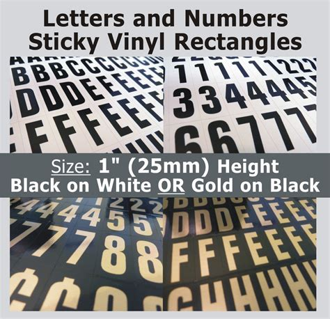 self adhesive letters 234 x sticky letters and numbers 1 quot self adhesive