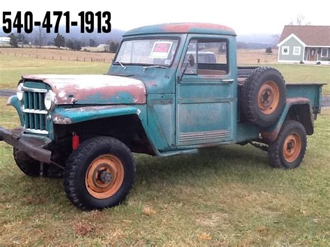 willys jeep pickup for sale 1961 jeep willys pickup classic jeep other 1961 for sale