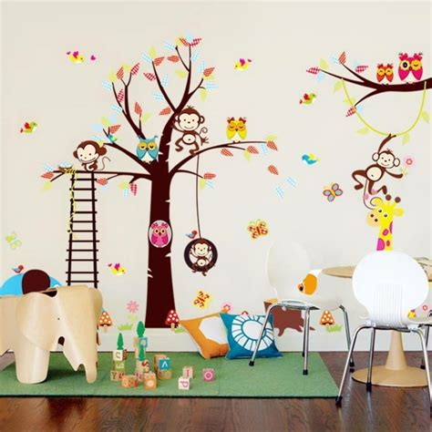 Kinderzimmer Ideen Tiere by 50 Deko Ideen Kinderzimmer Reichtum An Farben Motiven