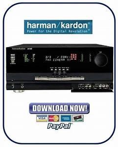 Harman Kardon Avr8000 Avr 8000 Service Manual  U0026 Repair Guide