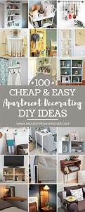 100, Cheap, And, Easy, Diy, Apartment, Decorating, Ideas