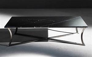 Coffee table wonderful black marble coffee table black for Marble coffee table black legs