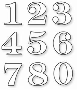 Papertrey Ink - By the Numbers Die Collection (set of 9 ...