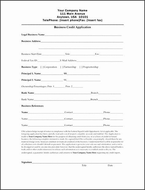 credit application template excel sampletemplatess