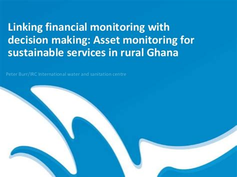 Swope Bmw Service by Asset Monitoring For Sustainable Services In Rural