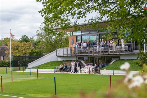 oundle school opens  cricket pavilion