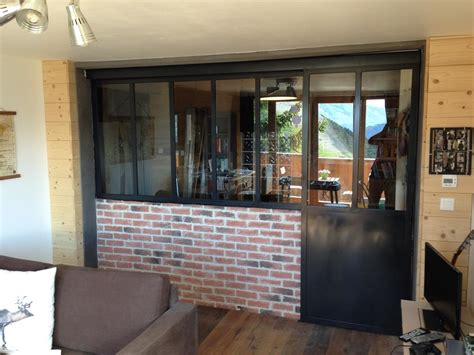cuisine vitr馥 atelier porte interieure style atelier maison design bahbe com