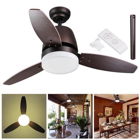 52 inch brookhurst ceiling fan 42 quot 48 quot 52 quot downrod bronze ceiling fan light kit w remote