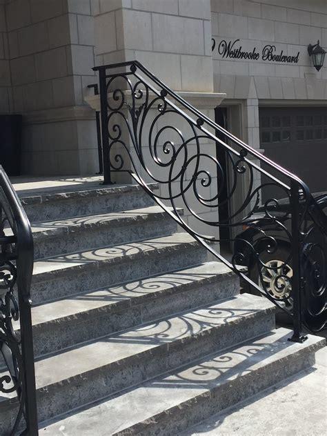Exterior wrought iron handrails in columbus, ohio. GALLERY | EXTERIOR | Wrought Iron Railings - Innovative ...