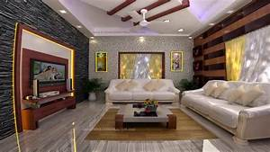 kerala home interior design living room youtube With interior design styles youtube