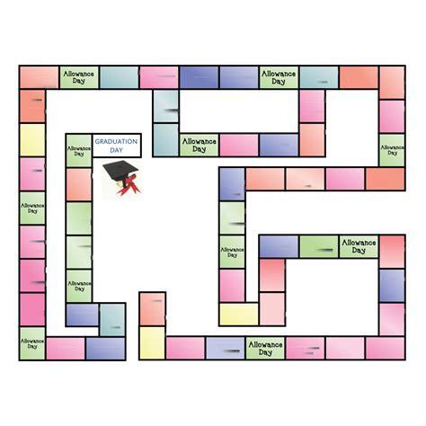 printable board game template printableecom