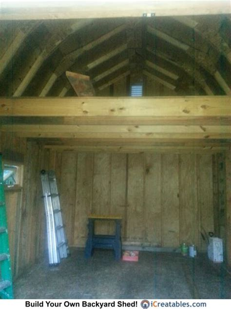 12x16 storage shed with loft plans 12x16 gambrel shed plan loft owners shed pictures