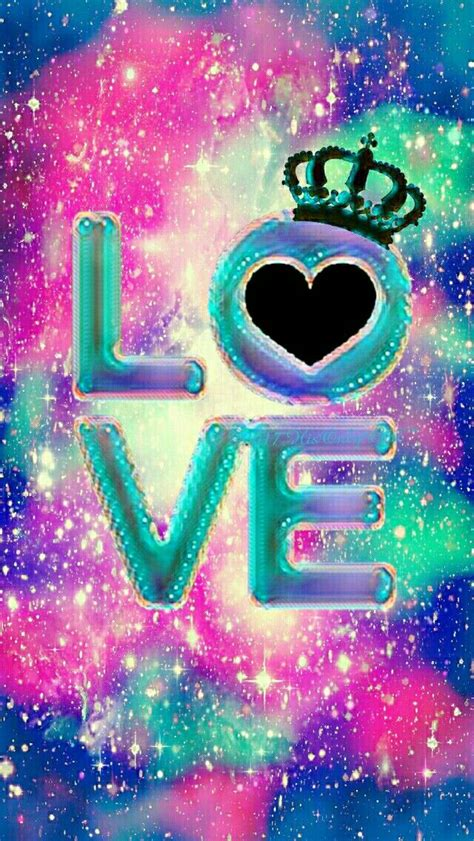 love galaxy iphoneandroid wallpaper  created   app