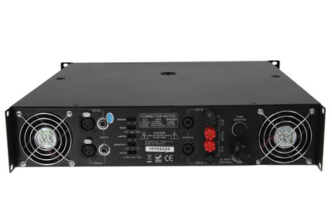 american audio vlp2500 2 channel power lifier with low